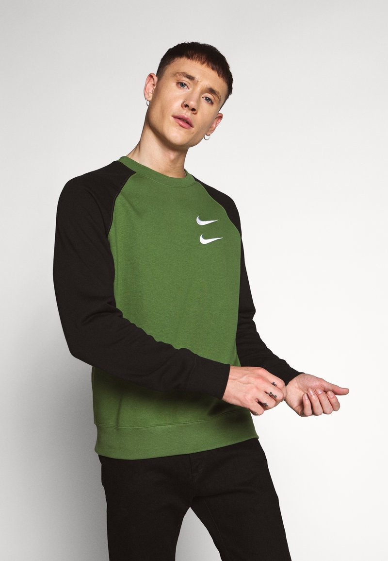 Nike Sportswear - Sweatshirt - treeline/black/white