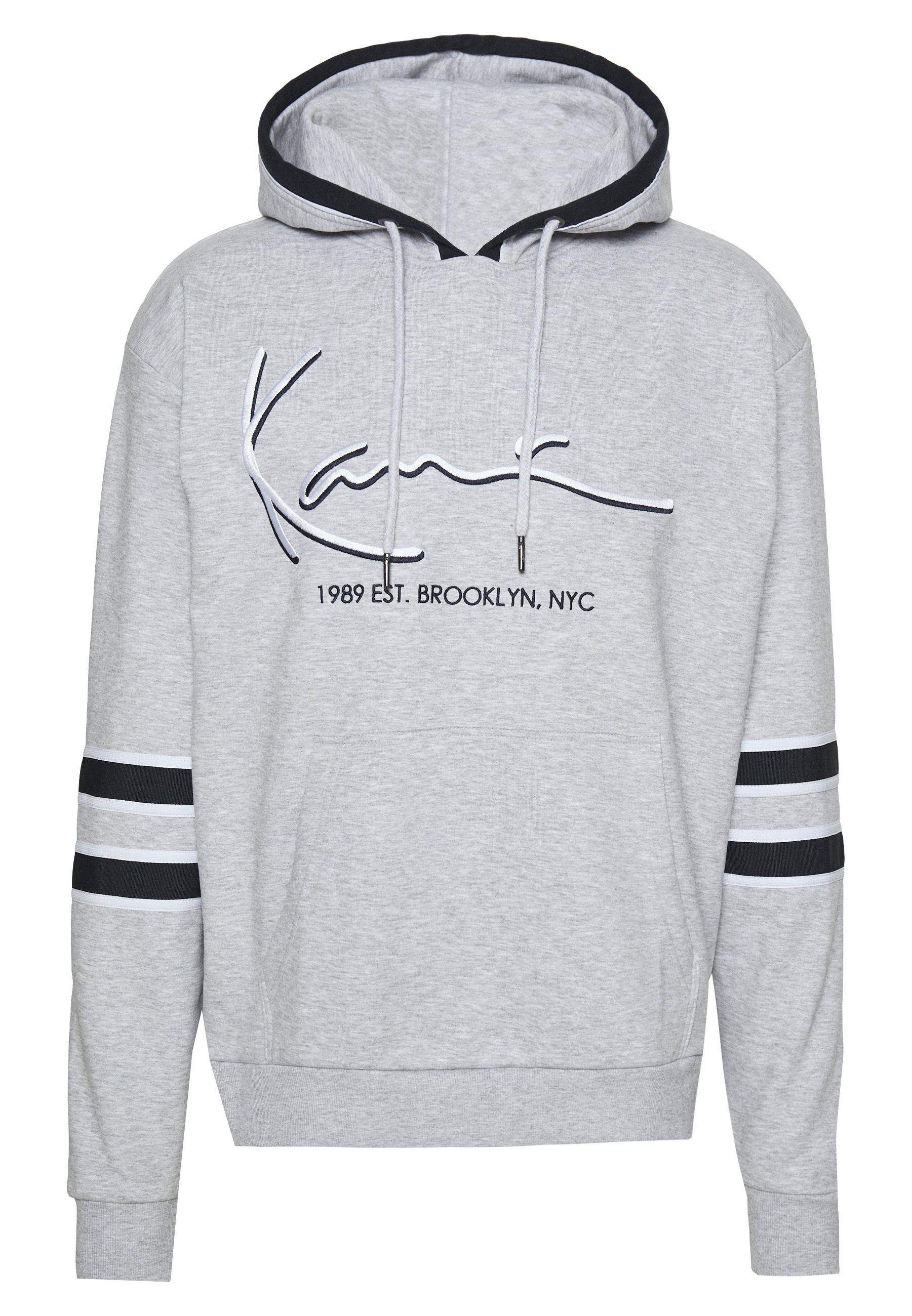 Karl Kani SIGNATURE BLOCK HOODIE Kapuzenpullover grey