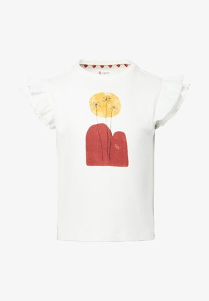 LOTHERTON - T-shirt print - snow white