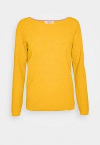 Jersey de punto - brass yellow