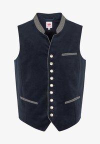 Spieth & Wensky - NAAB-WESTE H E - Waistcoat - dark blue - 3