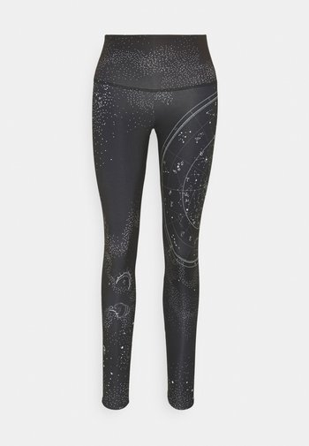 HIGH RISE GRAPHIC - Collants - black