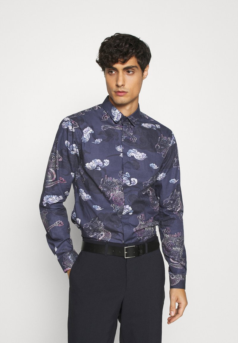 Twisted Tailor - JARVIS  - Camicia elegante - navy