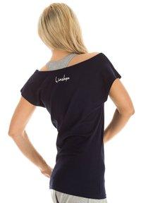 Winshape - Print T-shirt - night blue - 1