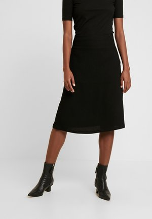 SARA - A-line skjørt - black