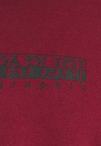 Napapijri The Tribe - BOX UNISEX - Långärmad tröja - vint amaranth - 2