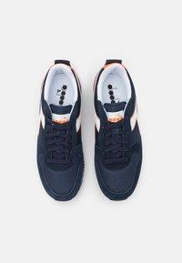 Diadora - OLYMPIA UNISEX - Trainers - blue corsair/white - 3