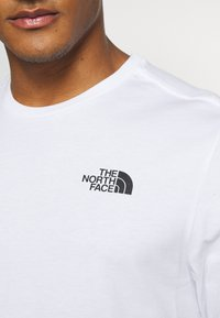 The North Face - MENS EASY TEE - Long sleeved top - white - 4