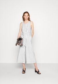 Banana Republic - FRONT STRIPE - Jumpsuit - black - 1