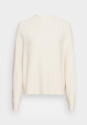 LONGSLEEVE ROUND NECK BOUCLE - Maglione - chalky sand