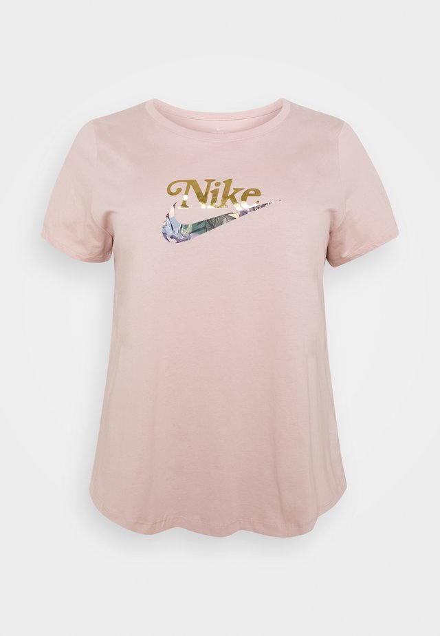 TEE FEMME PLUS - T-shirt print - pink oxford