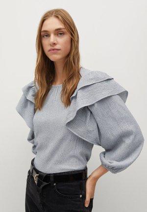 LATRE - Bluse - blanco roto
