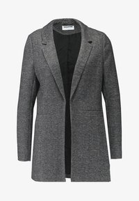 Noisy May - NMREKA LONG - Cappotto corto - dark grey - 4