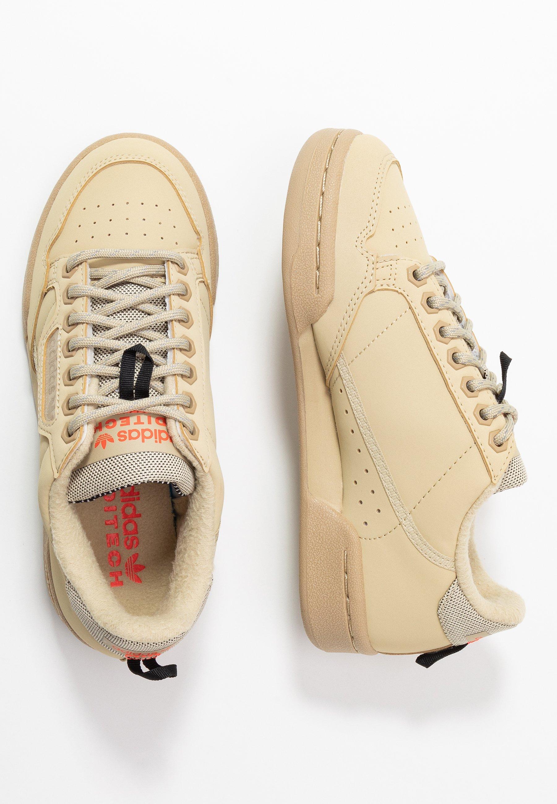 adidas Originals CONTINENTAL 80 - Joggesko - savanne/solar red