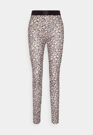 FLEXI STRETCH LISA - Leggings - Trousers - black leo