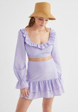 Minijupe - purple