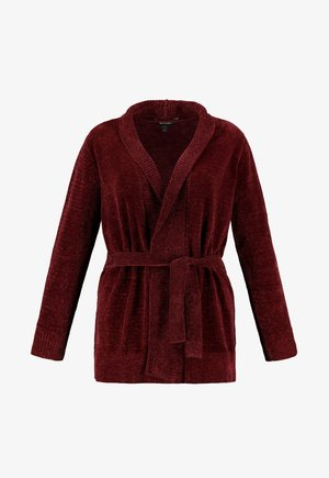 Cardigan - red berry
