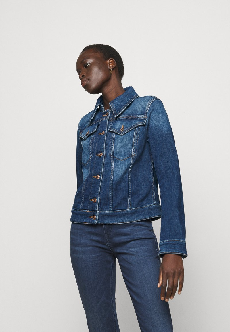 DRYKORN - SOMERTON - Denim jacket - blau