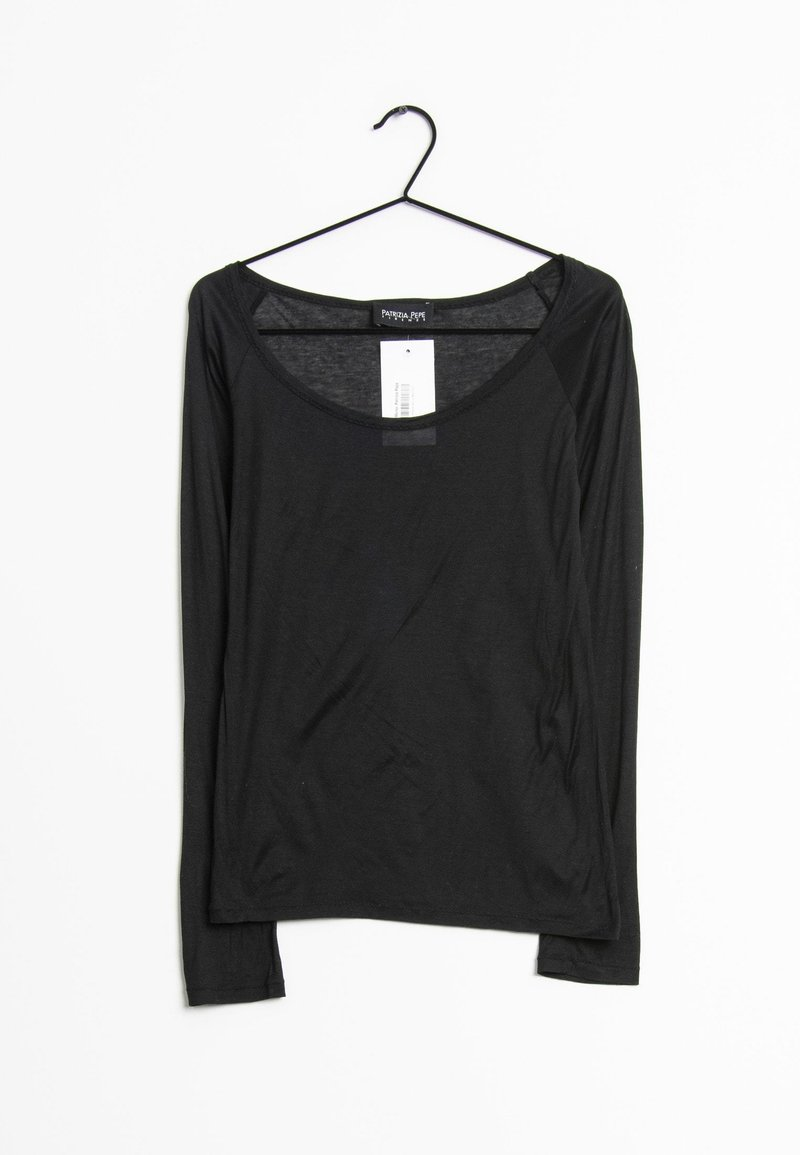 Patrizia Pepe - LONG SLEEVE - T-shirt à manches longues - schwarz