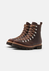 Grenson - BRADY - Lace-up ankle boots - brown - 1