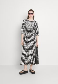 b.young - FLOURI ETHNIC DRESS - Day dress - black - 1