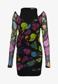 Versace Jeans Couture - Shift dress - multi colour - 5