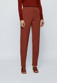 BOSS - TISLETTI - Trousers - brown - 0