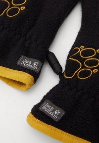 Jack Wolfskin - BAKSMALLA GLOVE KIDS - Gloves - black - 3