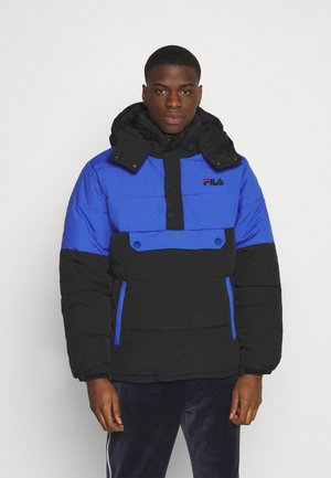BATUL BLOCKED PUFFER  - Winter jacket - black dazzling blue
