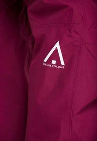 Wearcolour - FINE PANT - Skibukser - tibetan red - 5
