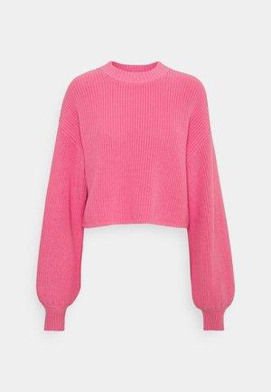 Pullover - pink medium