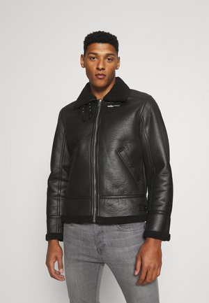 JORROCCO  - Giacca in similpelle - black
