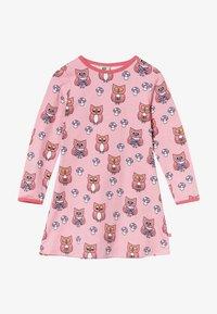 Småfolk - DRESS OWL - Jersey dress - sea pink - 2