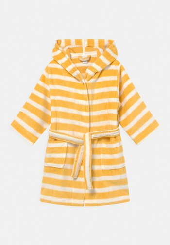 MINI BATHROBE UNISEX - Dressing gown - yellow