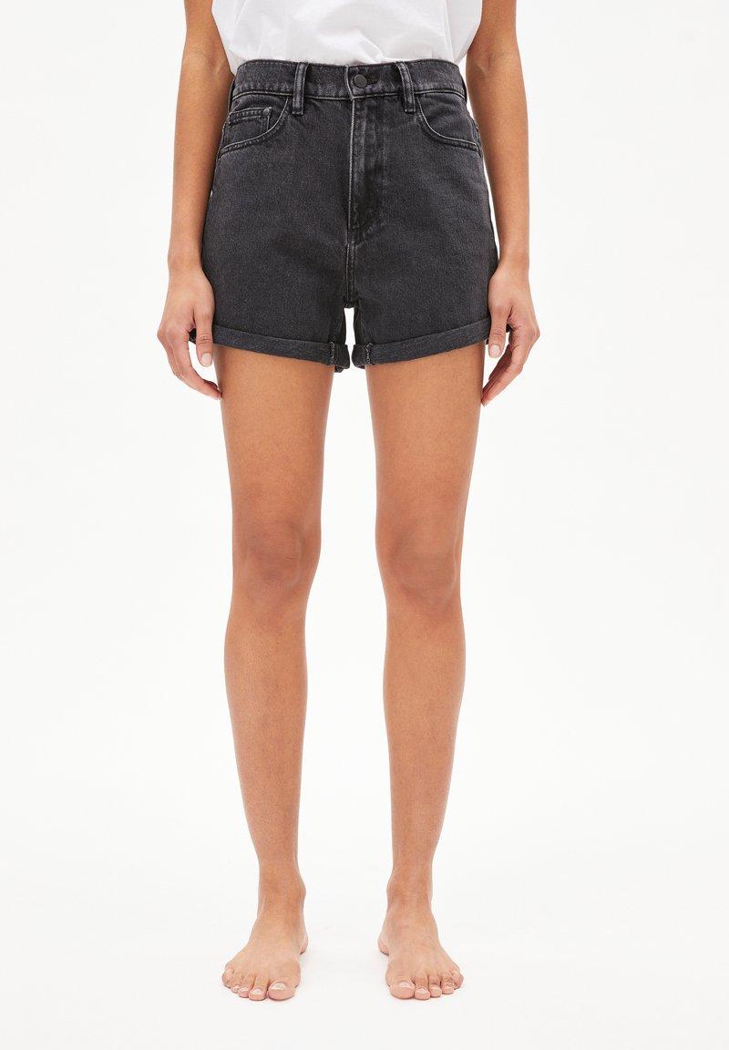 ARMEDANGELS - Denim shorts - black