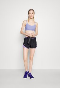 Under Armour - PLAY UP 3.0 GEO SHORT - Sports shorts - black - 1