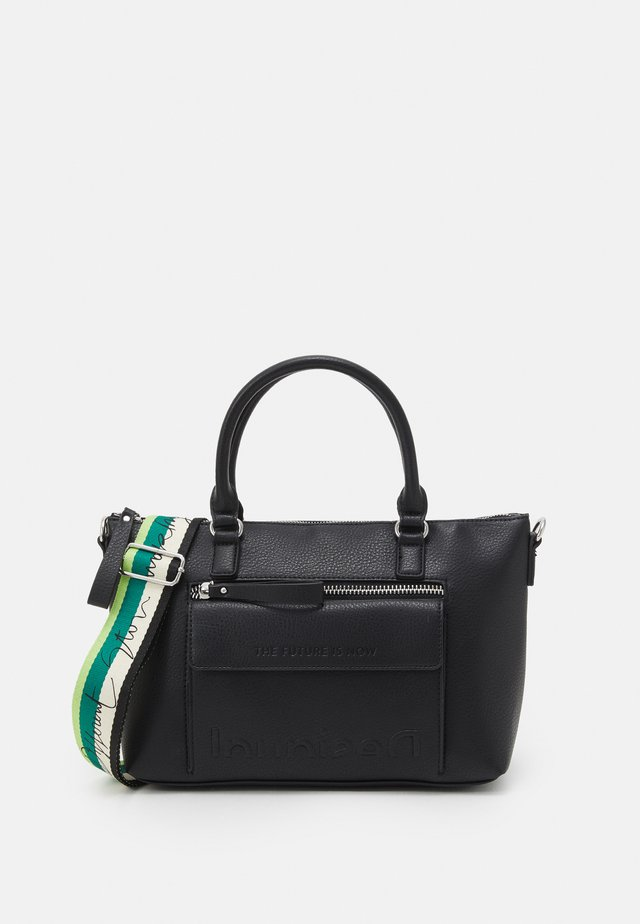 BOLS EMBOSSED HALF LOGO PADUA - Handbag - black