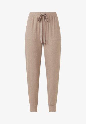 Teplákové kalhoty - brown