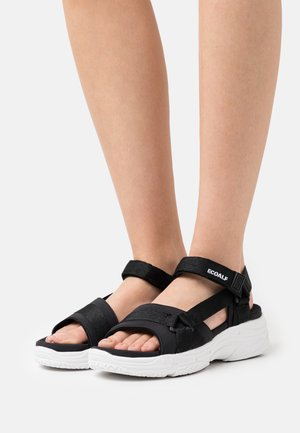 SOFIA - Korkeakorkoiset sandaalit - black