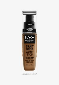 Nyx Professional Makeup - CAN'T STOP WON'T STOP FOUNDATION - Foundation - almond - 0