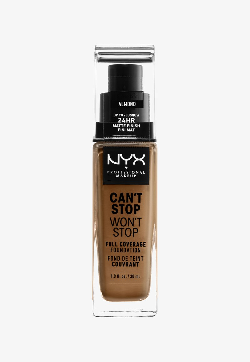 Nyx Professional Makeup - CAN'T STOP WON'T STOP FOUNDATION - Foundation - almond