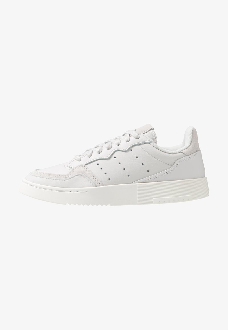 adidas Originals - SUPERCOURT - Trainers - grey one/crystal white
