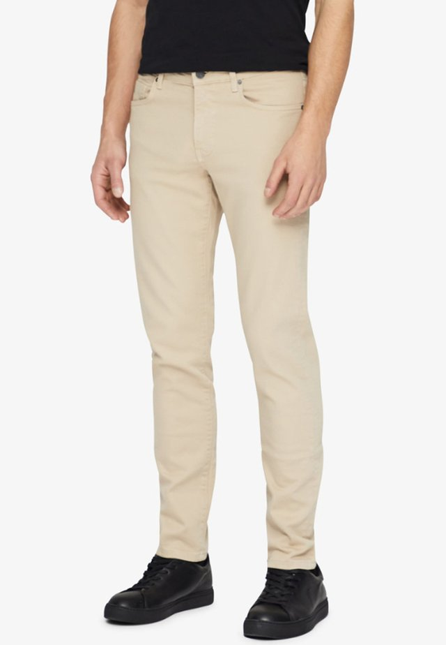 JAY - Jean slim - oxford tan
