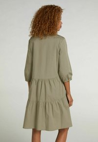 Oui - Shirt dress - khaki - 2