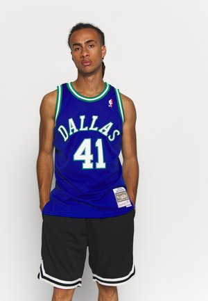 NBA DALLAS MAVERICKS DIRK NOWITZKI SWINGMAN - Club wear - royal