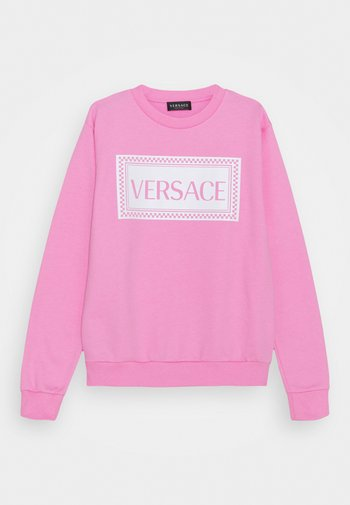 PRINT LOGO SHOW FULL UNISEX - Sweatshirt - pink/white