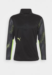 Puma - INDIVIDUALCUP  - T-shirt sportiva - puma black/yellow alert - 0