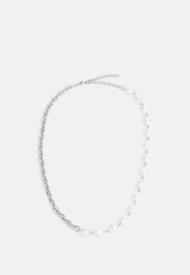 CHAIN CHOKER - Necklace - silver-coloured