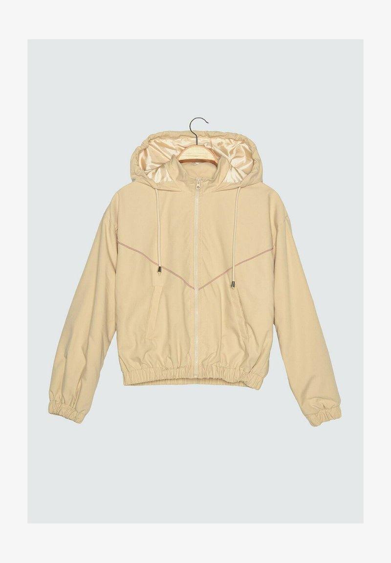 Trendyol - Training jacket - beige