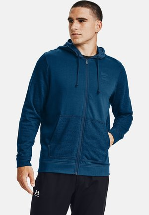 Zip-up hoodie - graphite blue